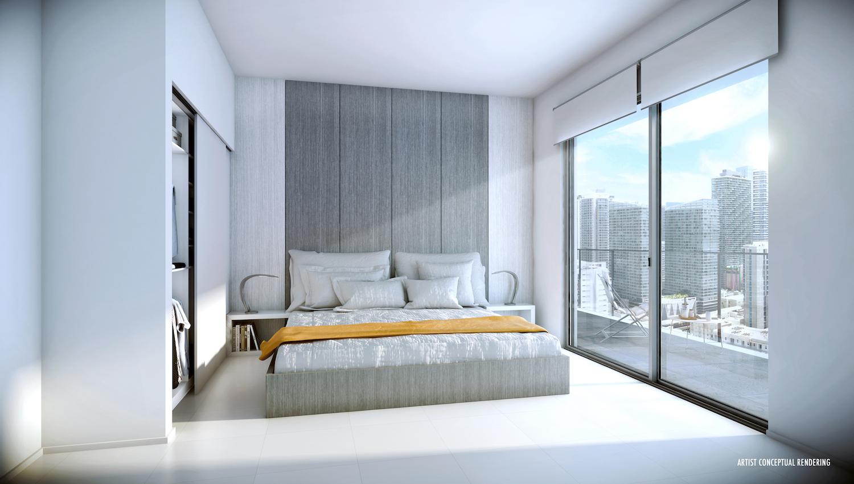 Smart Brickell Bedroom