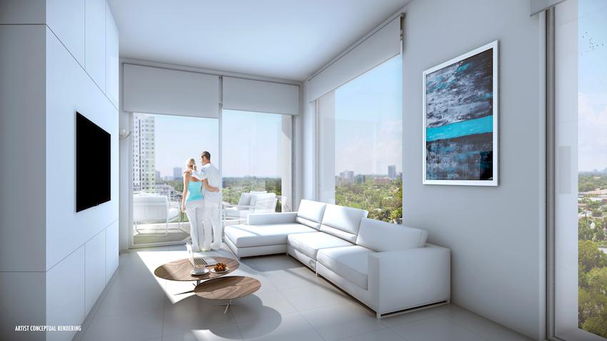 Smart Brickell Living Room
