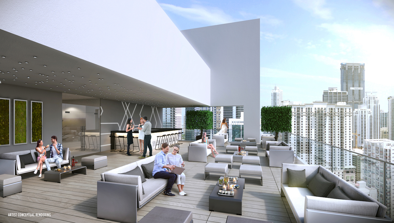 Smart Brickell Rooftop Lounge