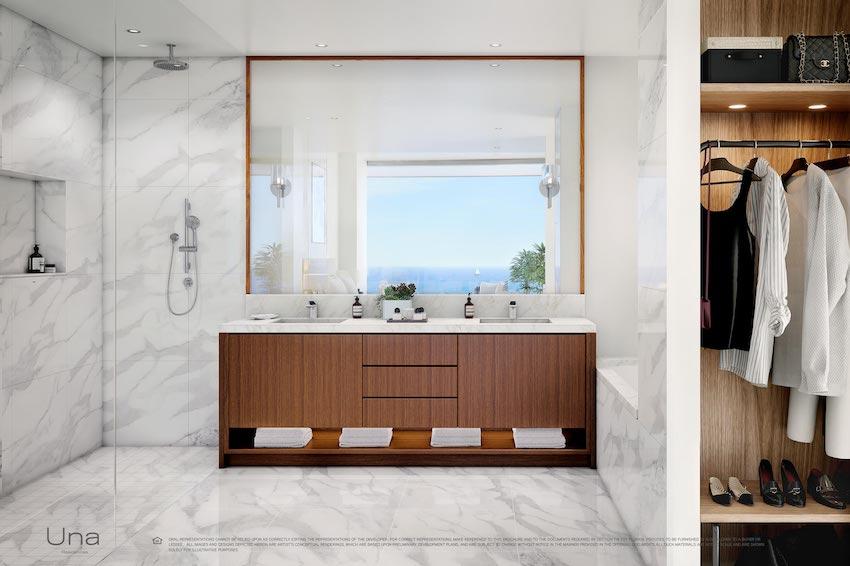 Una Residences Bathroom